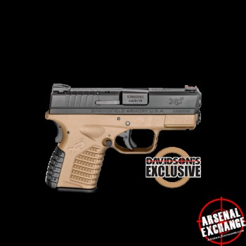 For Sale Springfield XDs Davidsons Special 9mm - Free Shipping - No CC Fees $409.99 IL 60046