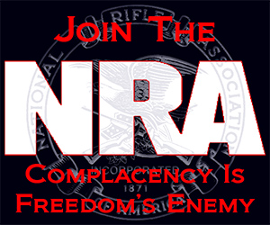 Complacency Is Freedoms Enemy. Join The NRA.