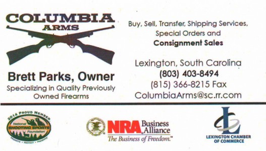 Columbia Arms Lexington SC 29073