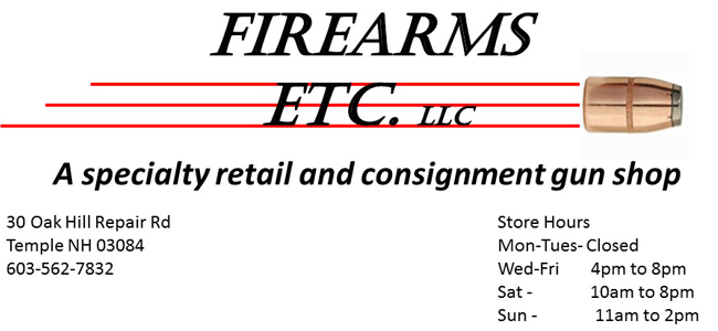 Firearms Etc. LLC Temple  NH 03084