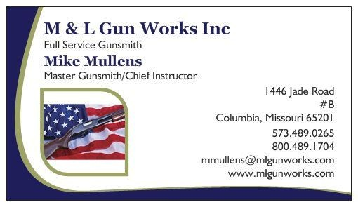M &L Gun Works Columbia MO 65201