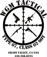 WGM Tactical Grass Valley CA 95949